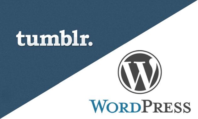 Daniel Posavac | Tumblr v WordPress